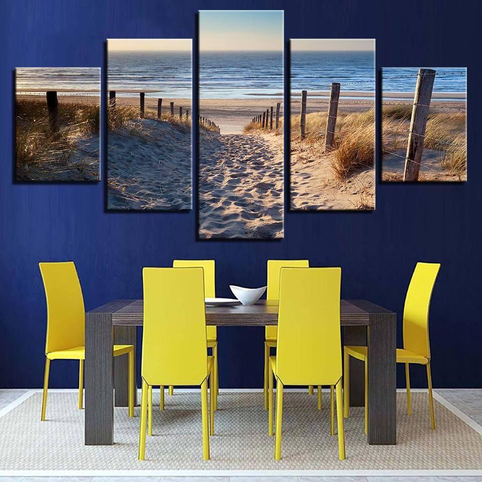 Beach Path Beach Canvas Art Wall Art Prints Beach Wall Art