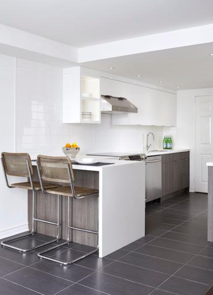 modern kitchen by turn key projects via homestars kitchens