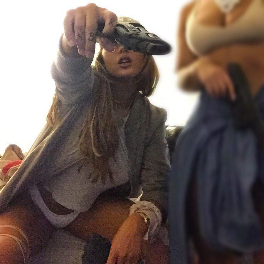 """Niykee Heaton on Instagram: """"on that 9 to 5 #ITSAWATERGUN #FUCKINGCHILL"""""""