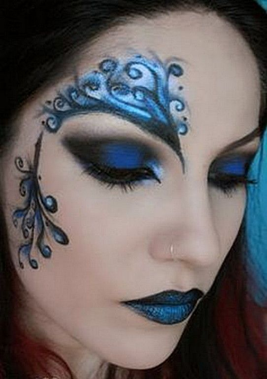 Blue Fairy Makeup 70 Halloween Makeup Ideas - cute makeup ideas for halloween