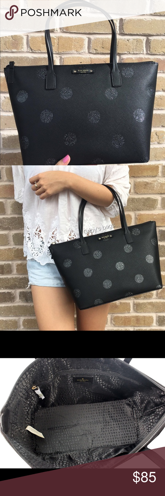 Kate Spade Haven Lane Hani Brand new with tags! Kate Spade Haven Lane Hani purse, the perfect gift for someone this Christmas! The second picture is not mine, just using it for size reference! Will also have this listed on Ⓜ️ercari as well a little cheaper! Will ship out the same day! 💕 kate spade Bags