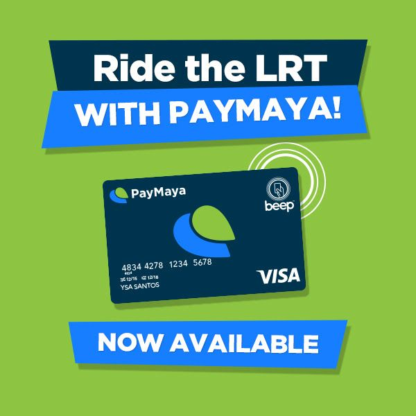PayMaya Visa Card with Beep gives Filipinos the Best of all