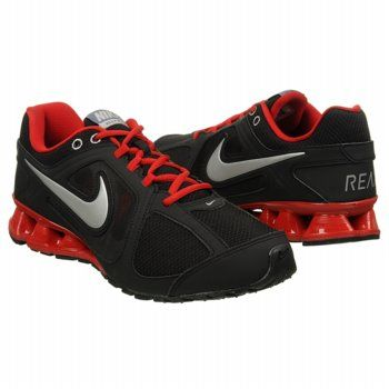 61d82b4b8d0dde Athletics Nike Men s Reax Run 8 Black Red Gray Silve FamousFootwear.com