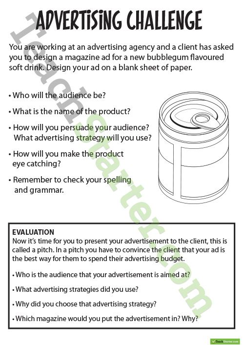 Advertising Resource Pack Teaching Resource An educational – Propaganda Techniques Worksheet