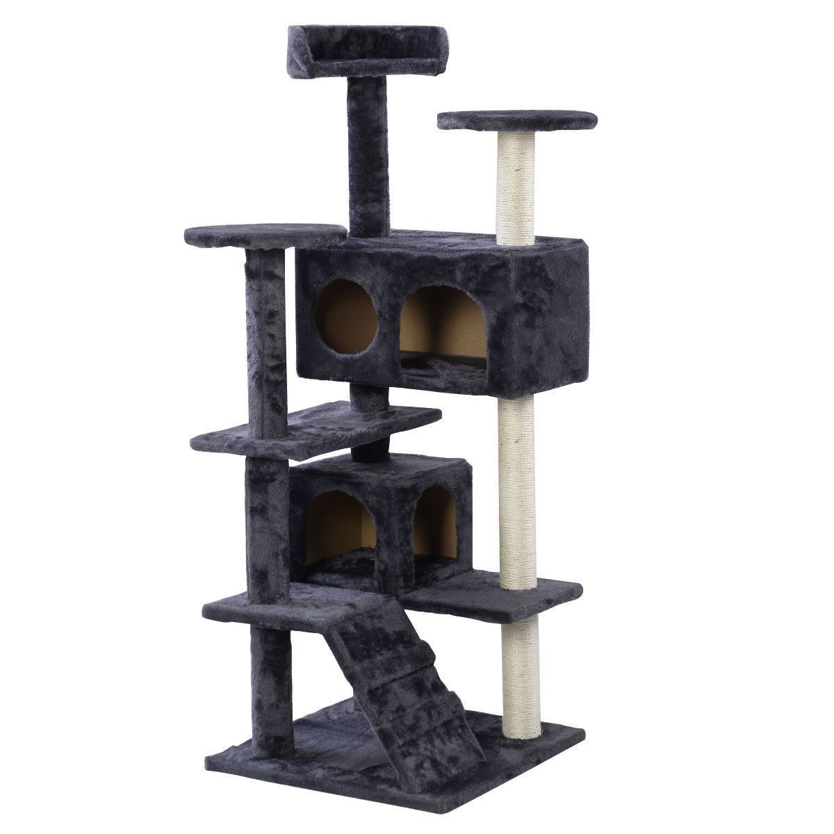 "New 60"" Cat Tree Tower Condo Scratcher Furniture Kitten Pet House Hammock Gray https://t.co/V8ExHzVRwa https://t.co/qnRDNNrjTR"