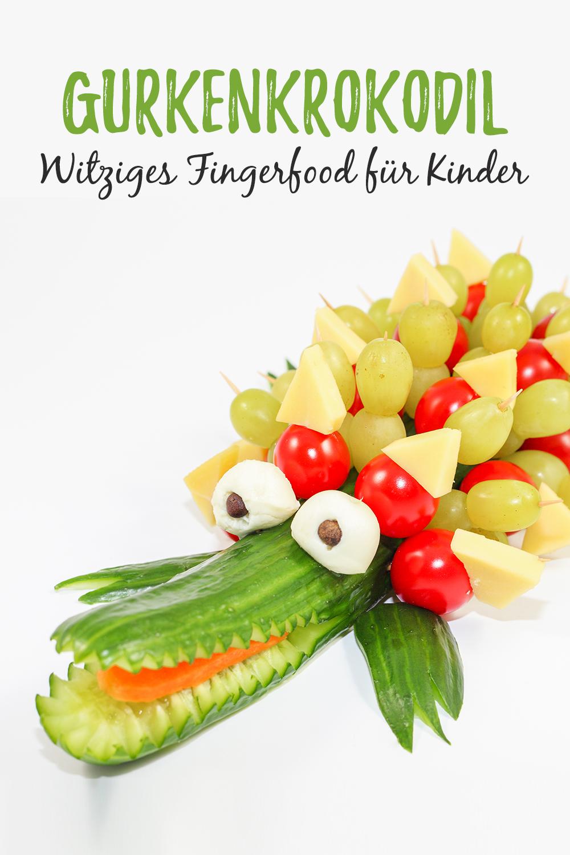 Brilliant Fingerfood Kindergeburtstag Sammlung Von Gurkenkrokodilzur Kinderparty. Rezepteunskleinigkeitenfür Kindergeburtstageschulprojekteschulenparteienfingerfood