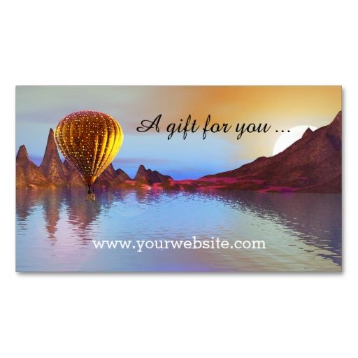 Hot air balloon ride gift certificate template business card i hot air balloon ride gift certificate template business card i love this design it yadclub