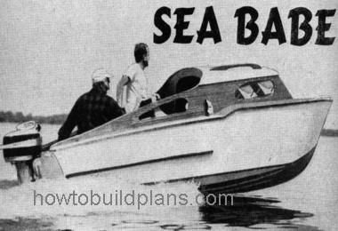 How To Build A Sea Babe Cruising Boat Plans | Old Vintage ...