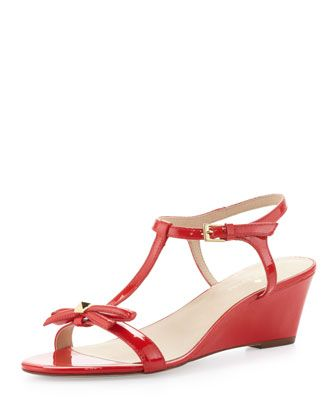 c57887f5d7f0 donna patent t-strap wedge sandal