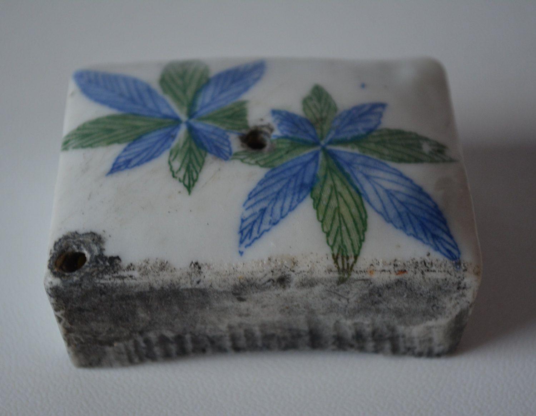 Suiteki water dropper for 'shodo' calligraphy, vintage Japanese ceramic suiteki…