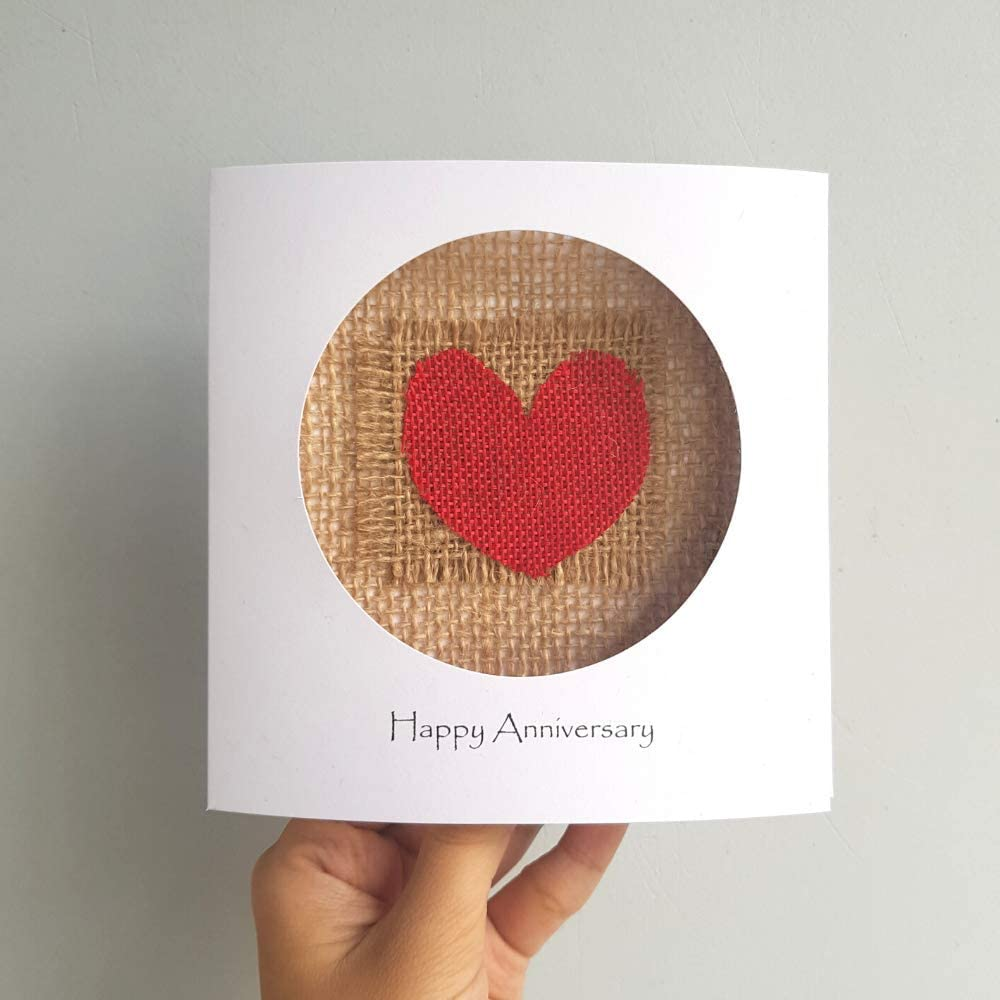 Hotchpotch One Year Together Anniversary Card Amazon Co Uk Kitchen Home Anniversary Cards Anniversary Happy Year