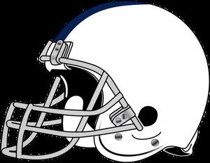 American Football Helmet Vector Drawing Football Helmets American Football Football Drawing