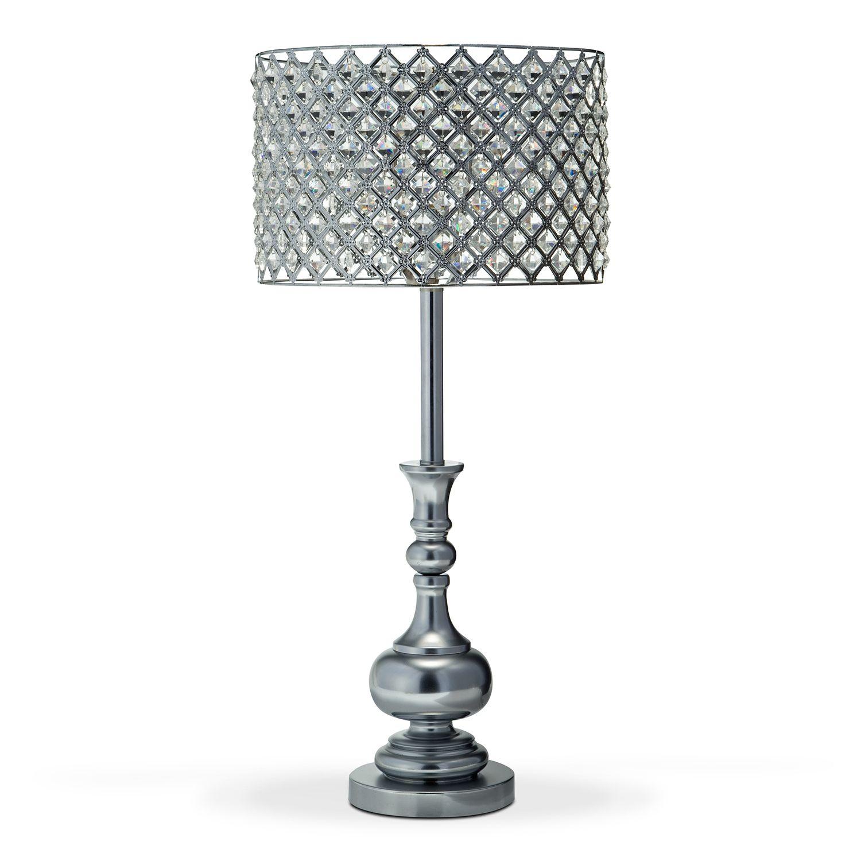 Bejeweled lamp shade   Beaded lamps