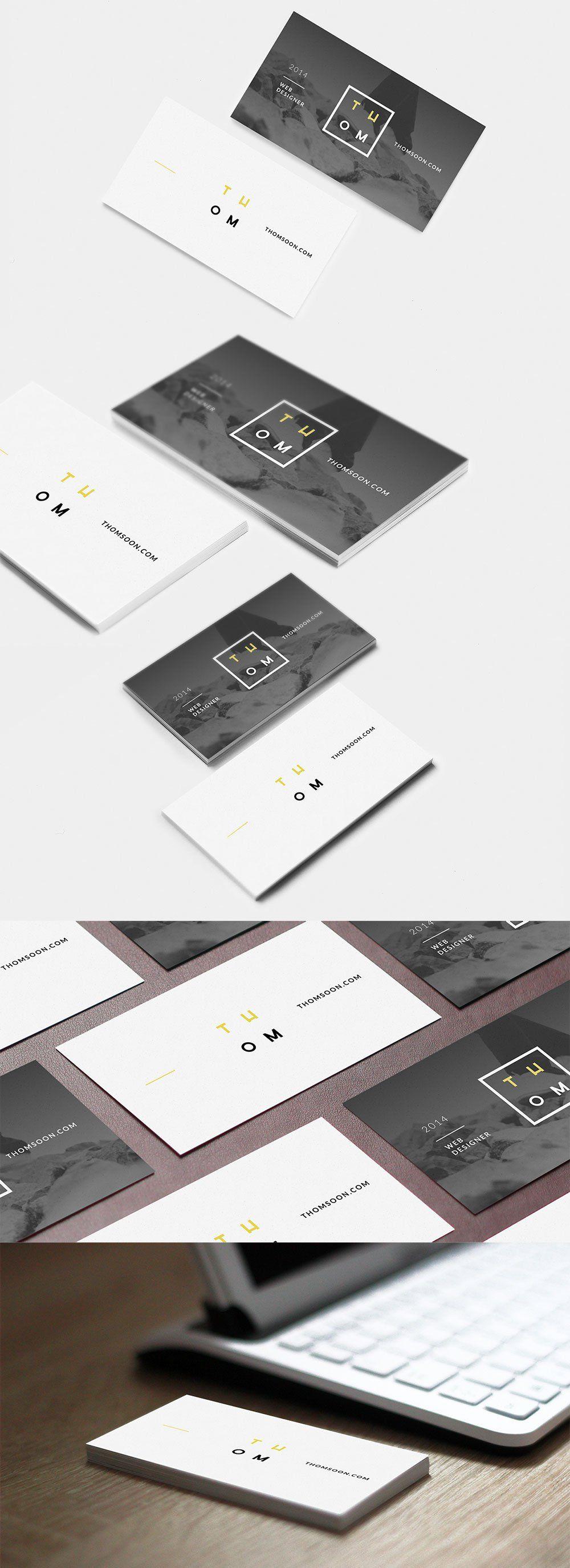 7 free business card mockups inspiration pinterest