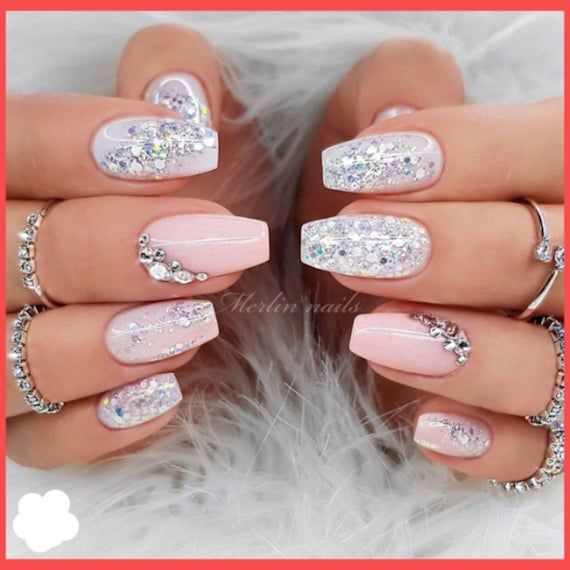 Polygel Nail Kit w/light • 9PCS , Nails At Home – Gel Nails Gift for Women and Teens, No Fake Press On Nails, Valentines Gift Present