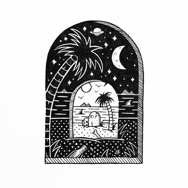 Jamie Browne Art @Jamie Browne ~ jamiebrowneart.com ~ Tomb With A View...