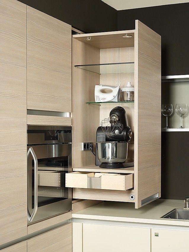 Hochschrank küche ausziehbar  Bildergebnis für küche hochschrank ausziehbar | Кухня | Pinterest ...