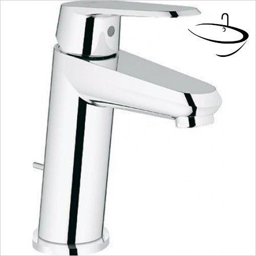 Grohe Basin Taps - Eurodisc Cosmopolitan Basin Mixer 1/2\'\' S-Size ...