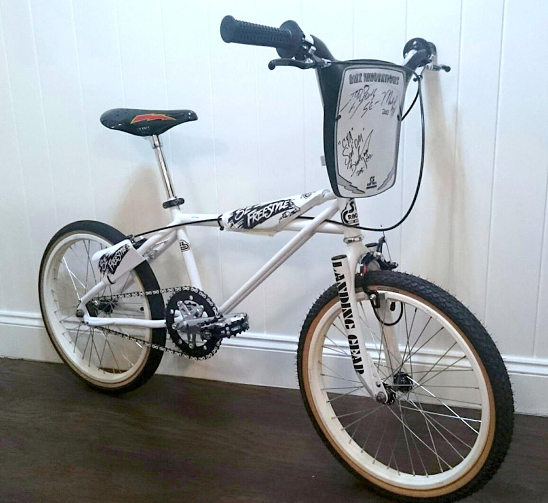 1984 Se Racing Quadangle Freestyler Bmxmuseum Com Bikes
