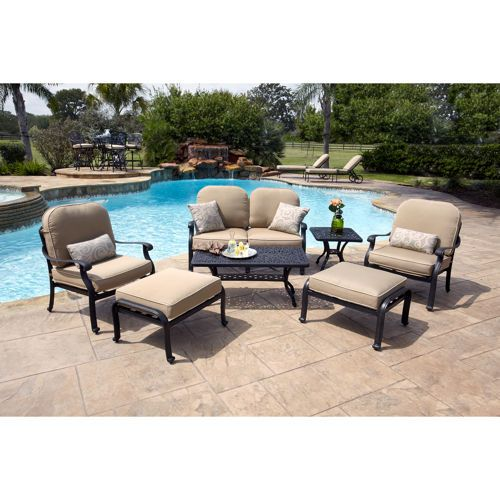 San Paulo 7 Piece Patio Deep Seating Collection