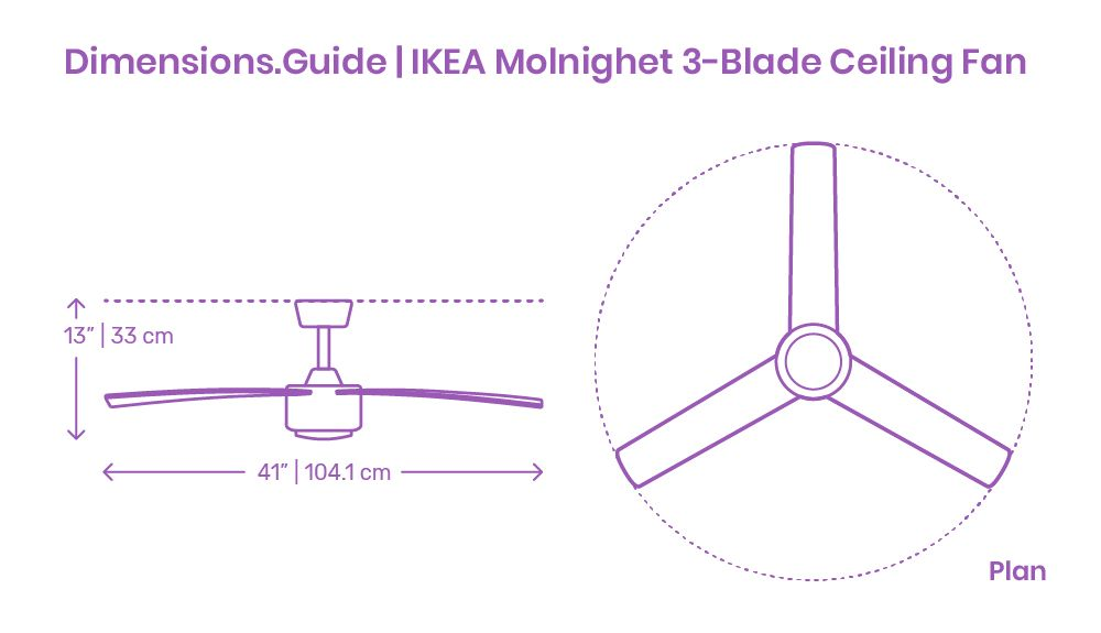 ikea molnighet 3 blade ceiling fan indoor fans smart outdoor