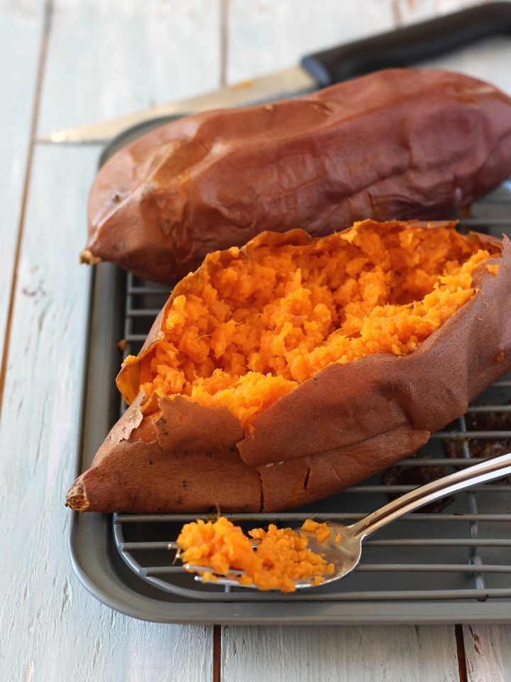 Toaster Oven Baked Sweet Potatoes Recipe Sweet Potato Oven Sweet Potato In Toaster Toaster Oven Recipes
