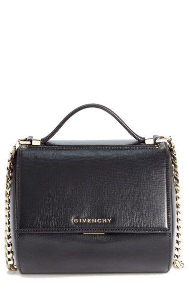 Givenchy Mini Pandora Box Leather Shoulder Bag Available At Nordstrom