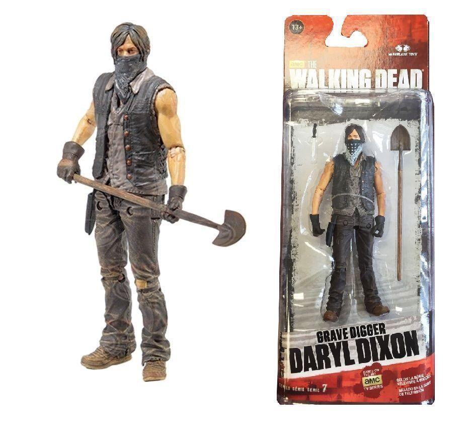 Mcfarlane walking dead series 6 daryl dixon action figure - Daryl Dixon Walking Dead Tv Series Action Figures Mcfarlane Grave