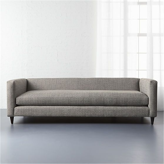 Movie Sofa Salt And Pepper Cb2 Low Profile Sofa Sofa