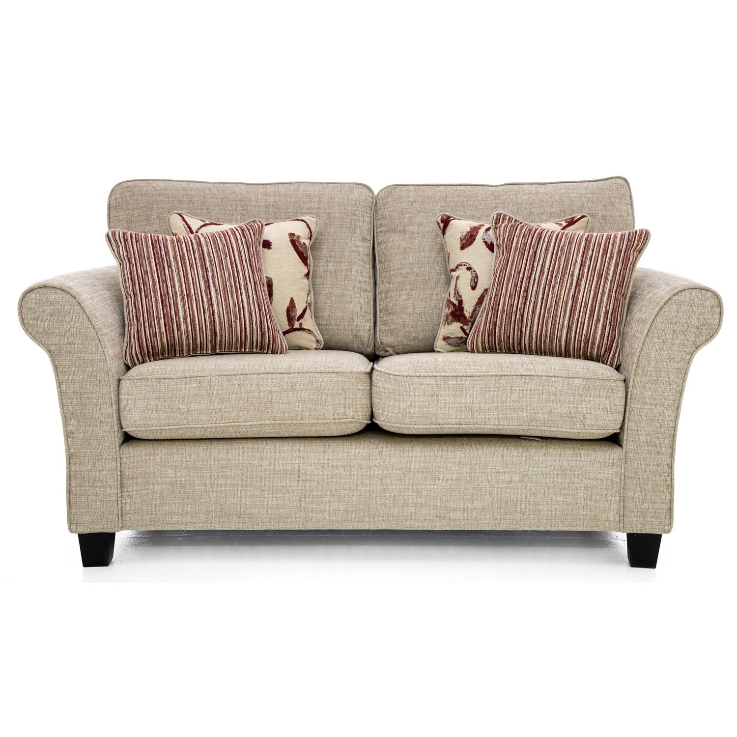 Casa Lucille Small Sofa High Back 2 Seat Corinne Beige