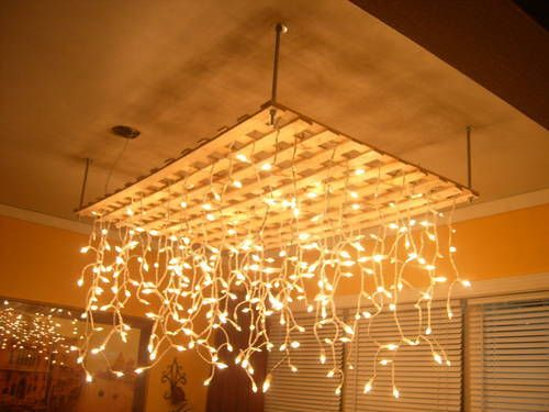 Some version of this would be interesting dining room lighting