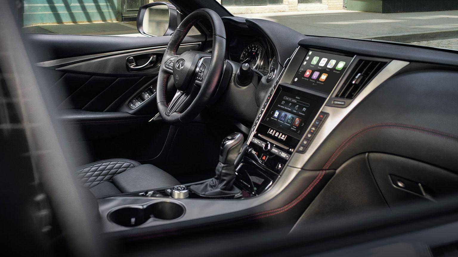 2020 Infiniti Q50 Interior First Drive Di 2020