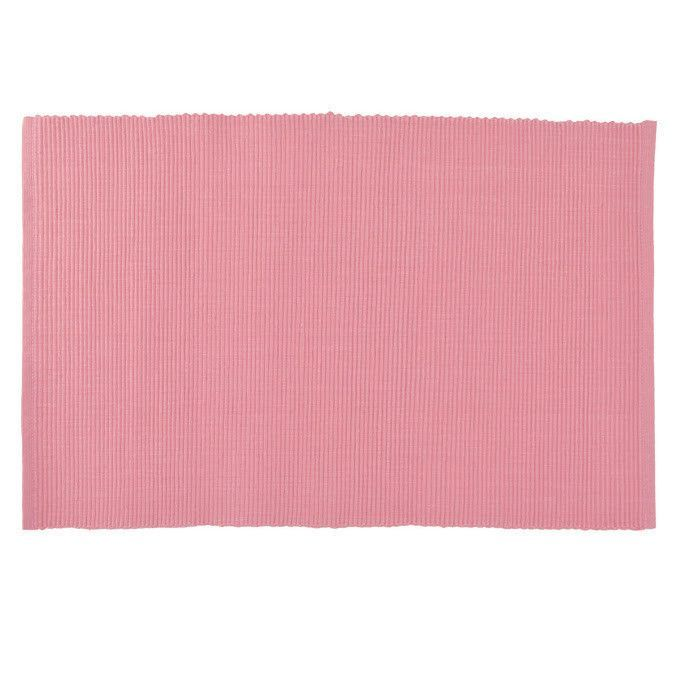 Candy Pink Ribbed Placemat