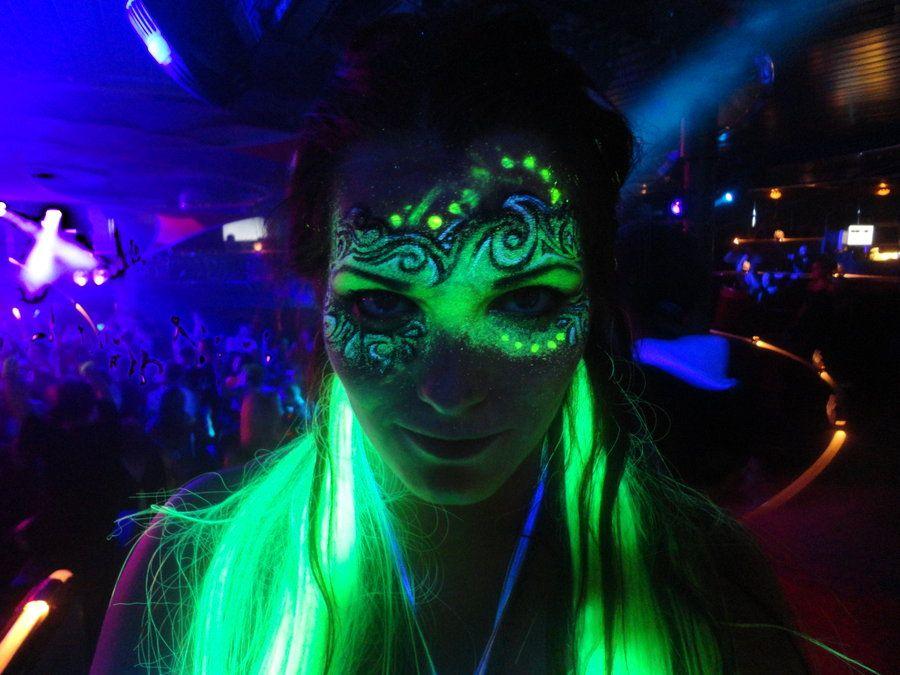 UV-make Up By Lilljaeger.deviantart.com On @deviantART | Dramatic Makeup | Pinterest | DeviantART