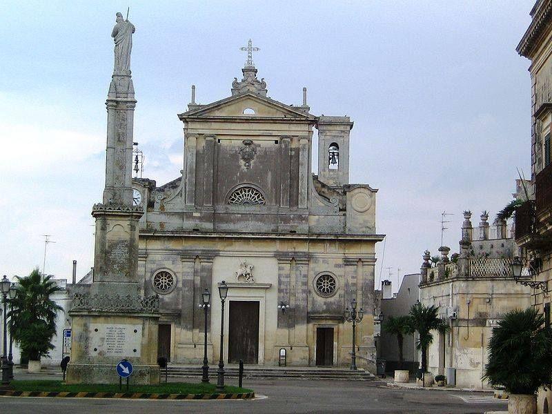 L Attuale Chiesa Matrice Di San Giorgio A Bagnolo Del Salento