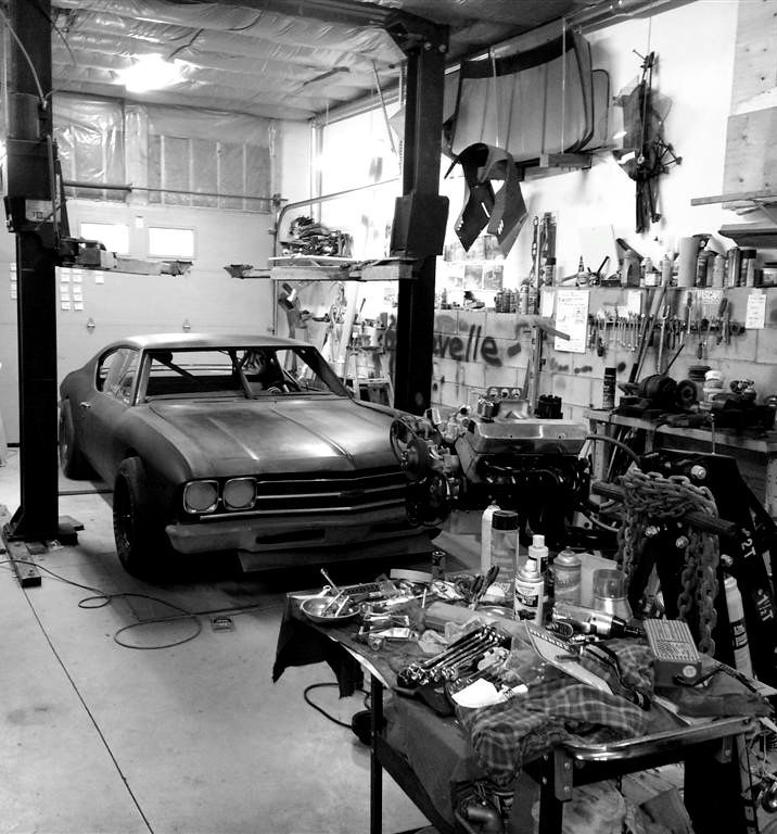 A garage that I can call my room