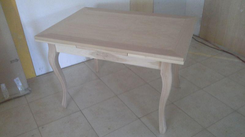 Tavoli Da Cucina Shabby : Tavolo da cucina in legno allungabile shabby chic grezzo tavoli
