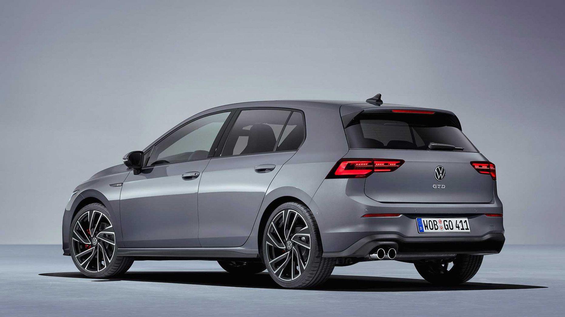 2020 Volkswagen Golf Gtd Golf Gti Volkswagen Vw Golf