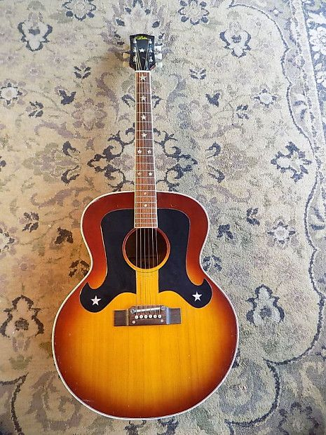 Aria Hf 9441 Everly Brothers Jumbo 1978 Circa Sunburst Mike S Music Reverb Guitar Tech Everly Acoustic Guitar