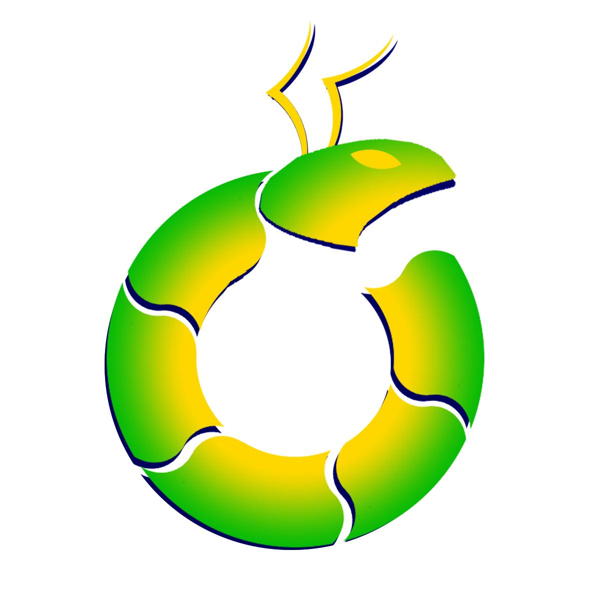 Logo Design Circle Ant