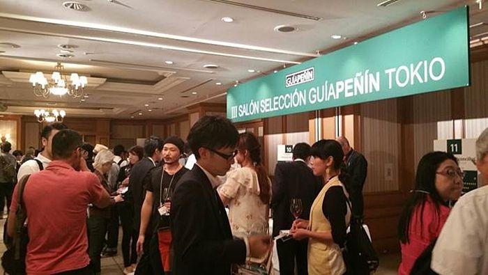 Cerca de 400 profesionales asistieron al III Salón Selección Guía Peñín Tokio