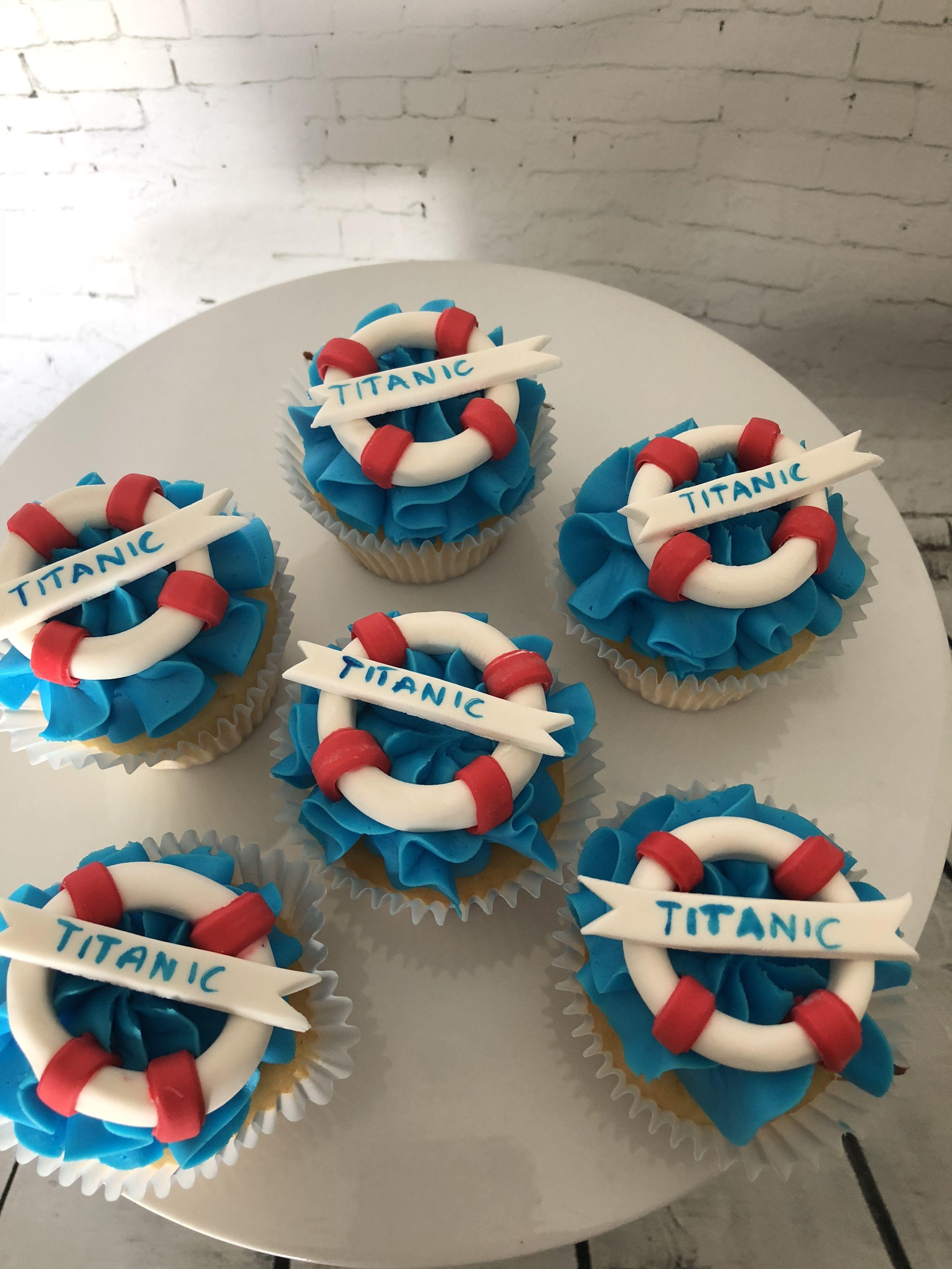 Titanic Cupcake Toppers