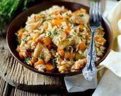 Riz aux carottes et au cabillaud (facile, rapide) - Une recette CuisineAZ