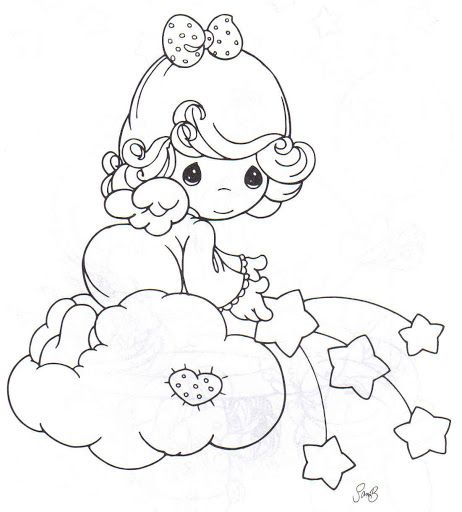 precious moments coloring pages bing images
