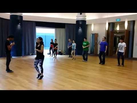 Bachata Shines & Dips workshop at Singapore International Bachata & Latin Festival - YouTube