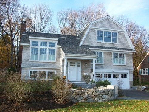 Gambrel Roof Design Pictures Remodel Decor And Ideas Page 23 Exterior House Remodel Split Foyer Gambrel Roof