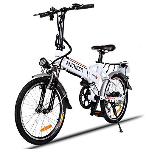 Ancheer Power Plus Electric Mountain Bike With Lithiumion Battery