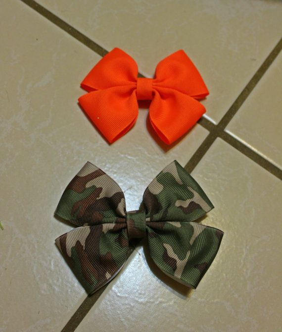 Get your Hunt ON  with these camo & bright orange by mLyCreations