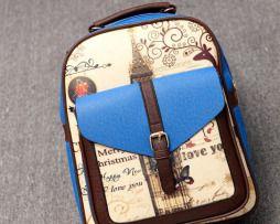 f08edbdda829 Dámsky školský ruksak s romantickým motívom vo farbách3