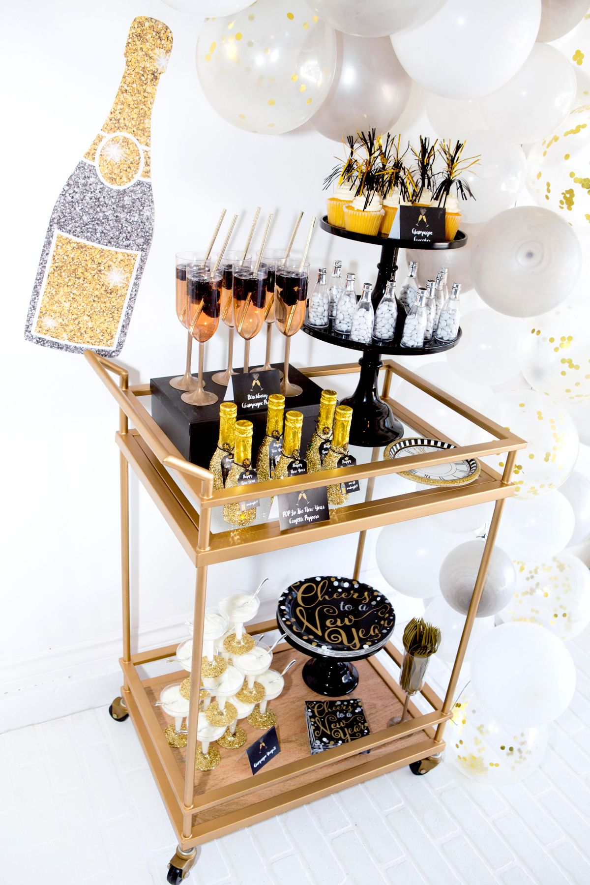 new years eve party ideas and decorations New years eve